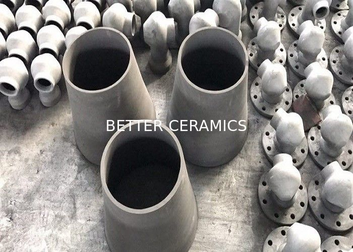 Reaction Bonded Silicon Carbide Ceramic Cyclone Liner High Temperature Resistance