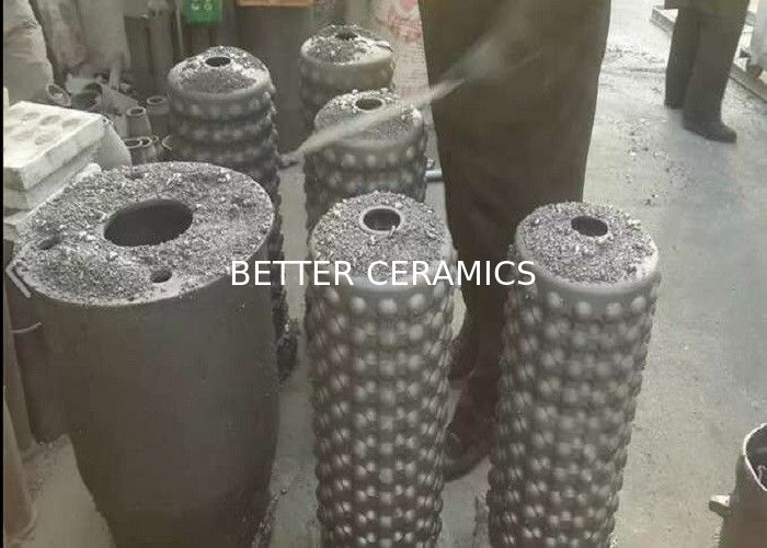 SiSiC Silicon Carbide Products Self Recuperative Gas Burner Heat Exchanger