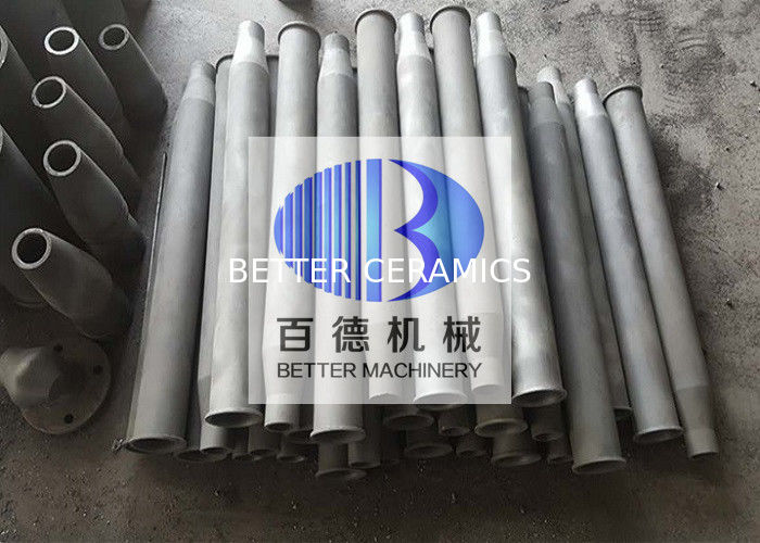 Wear Resistant Reaction Bonded Silicon Carbide Self Recuperative Gas Burner Heat Exchanger