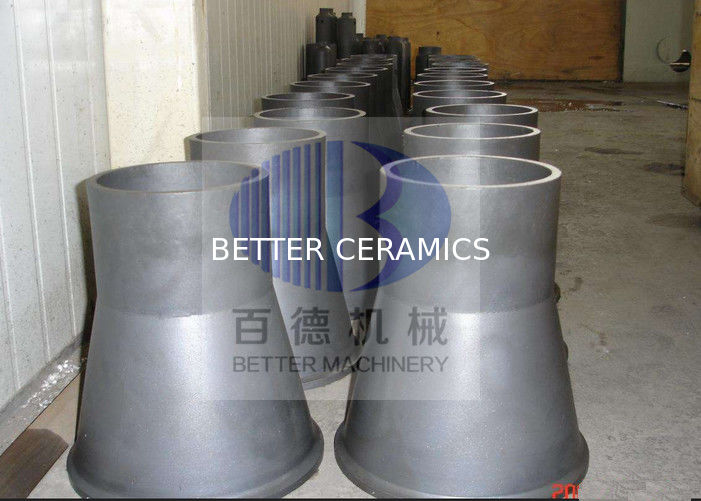 High Strength Silicon Carbide Ceramic Wear Resistant For Taper Sleeve