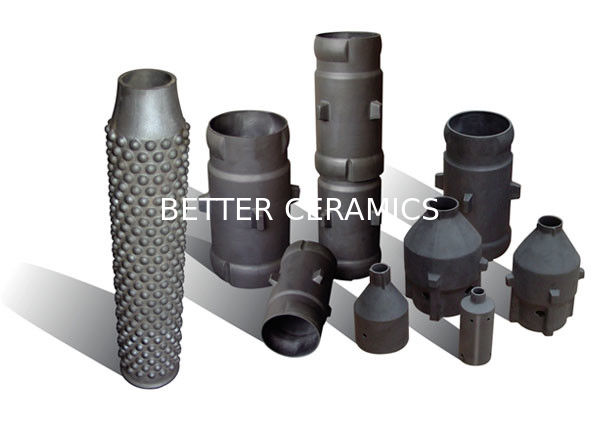Recrystallized Silicon Carbide Heat Exchanger Industry Ceramic Sisic Product