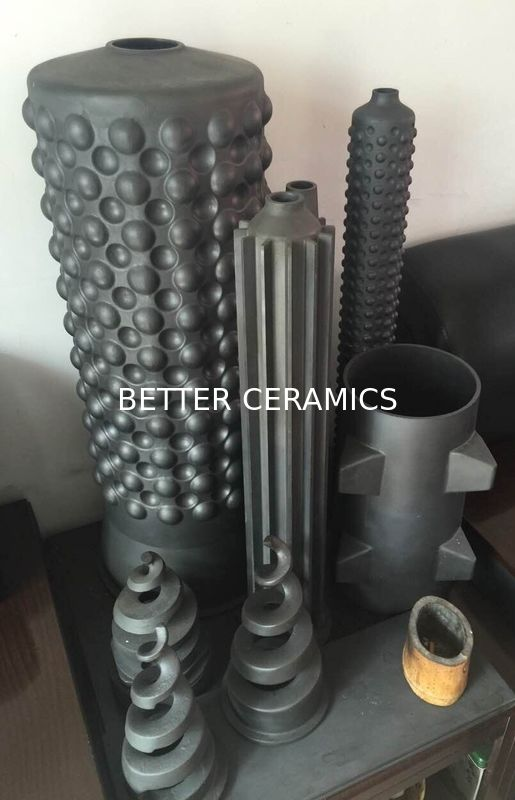 High Temperature Protection Sisic Heat Exchanger Silicon For Industrial Kiln