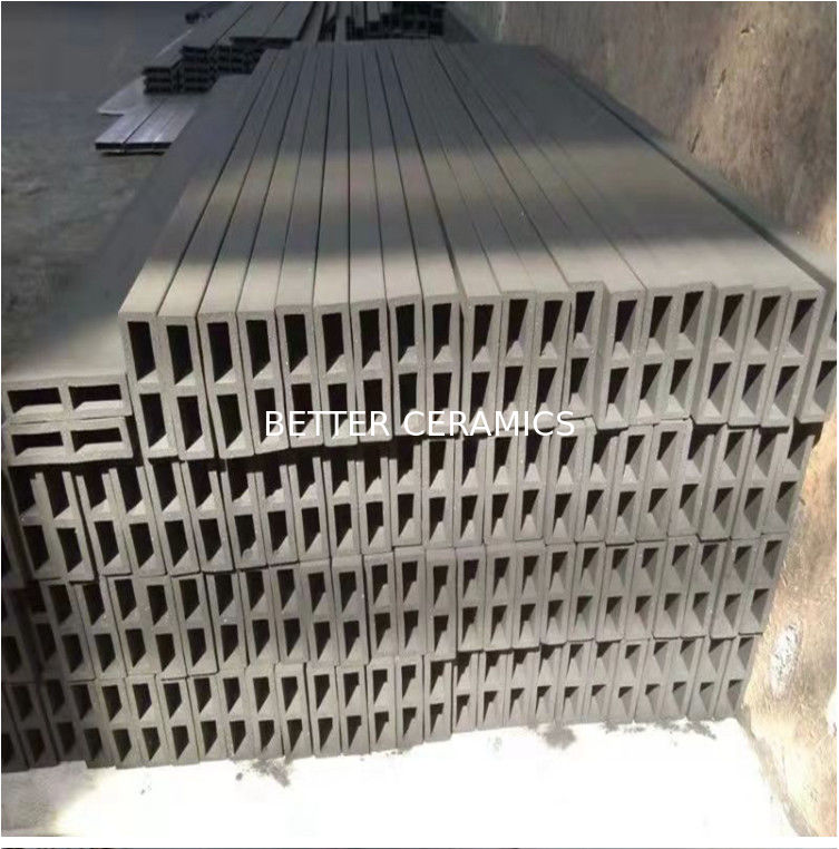 Refractory Reaction Bonded Silicon Carbide Ceramic Beam For Rbsic Batts